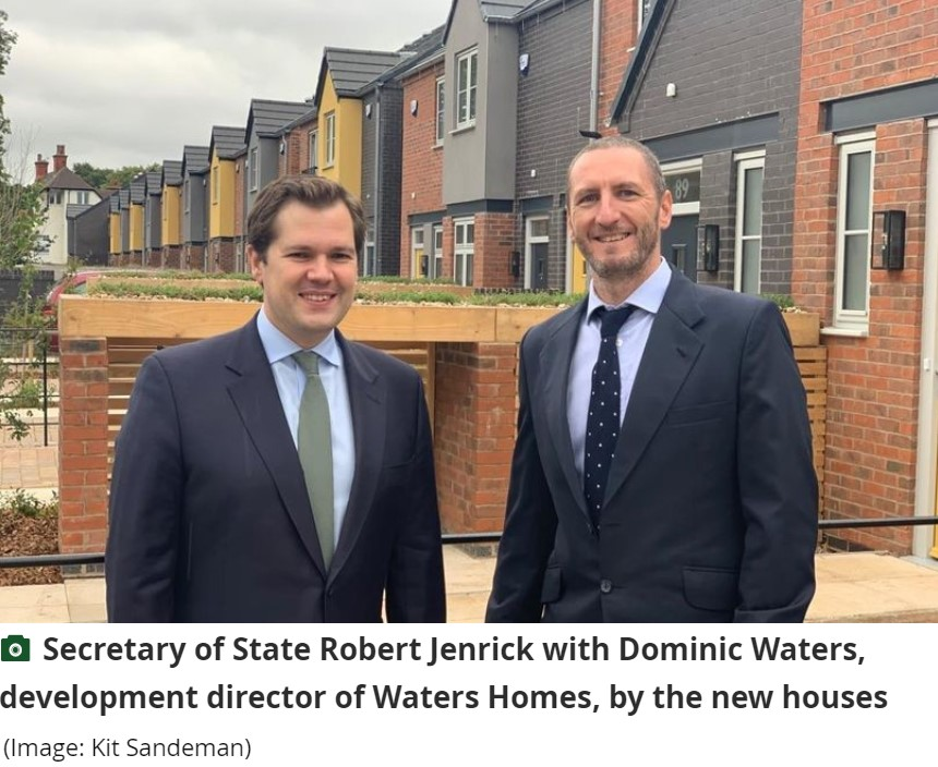 Waters Homes Featured in Nottinghamshire Live